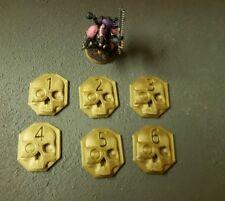 Warhammer 40k skull Objective Markers