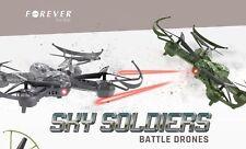 Forever Sky Soldiers Battle Drones RC Dual Set Kampf Dronen Quadcopter Drohne
