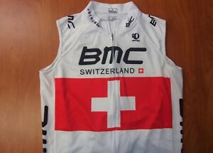 Pearl Izumi BMC Switzerland Coolmax Performance Cycling Jersey L ~NEW~