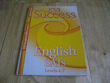 LETTS KEY STAGE 3 SUCCESS ENGLISH SATs REVISION GUIDE LEVELS 4-7 KS3 ANSWERS