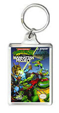 TEENAGE MUTANT NINJA TURTLES 3 NES KEYRING LLAVERO