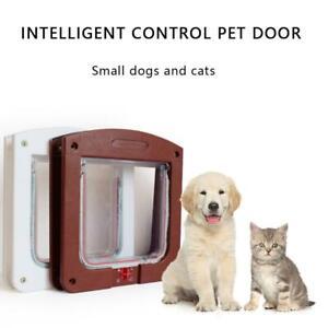 Portable 2-way Pet Door Dog Cat Enter Exit The Door Home Door Pet Freely A2E4