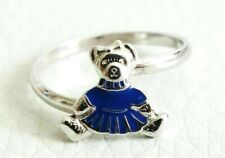 BAGUE en argent 925 Tartine et Chocolat OURS T50  	Sterling silver BEAR RING!