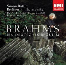 Ein Deutsches Requiem von Rattle,Röschmann,Quasthoff,BP (2007)