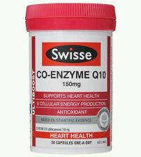 Co-Enzyme Q10 150mg 50 Caps Swisse UltiBoost- OzHealthExperts