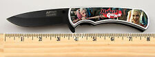 Harley Quinn Suicide Squad Tactical Limited Edition Spring Assisted Knife + clip