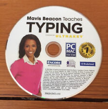 2013 Mavis Beacon Teaches Typing Ultrakey PC Mac Software Installation DVD Disc