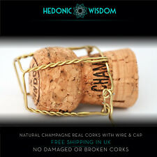 NATURAL CHAMPAGNE CORKS  - weddings, decor, crafts. Fast Dispatch UK