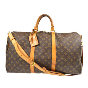LOUIS VUITTON KEEPALL 50 BANDOULIERE TRAVEL BAG MONOGRAM M41416 gjp 80809