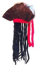 Pirate Hat with Wig Book Week Find your treasure Pirate Accessory Caribbean