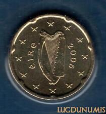 Irlande 2006 20 Centimes D'Euro FDC BU provenant du coffret BU 40000 exemplaires