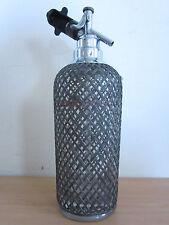 """Vintage Sparklets Glass Seltzer Bottle 13 3/4"""" Czechoslovakia"""