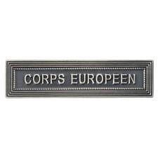 Agrafe pour médaille Ordonnance CORPS EUROPÉEN  / Eurocorps