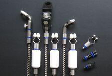 CARP Fishing Tackle mini o-ring x40 Blu Fit Bobbin Hanger Swinger 3&7mmØ bsw40#