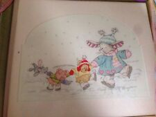 Somebunny Winter Wonderland Christmas Cross Stitch Chart