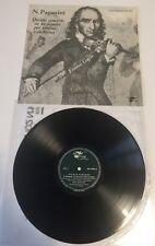 """12"""" LP 1962 ANGELICUM LPA 5933 FRANCO GULLI VIOLINO PAGANINI QUINTO CONCERTO"""