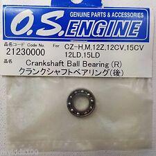 O.S. Engine 21230000 Crankshaft Ball Bearing (R) FOr CZ-H, M, 12Z, 12CV, 15CV