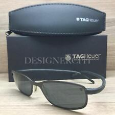 f6562019142c Tag Heuer TH 2003 Sunglasses Matte Brown Black 102 Authentic 53mm