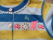 OILILY schöne gestreifte Jerseyjacke blau gelb Bambi CARATS Gr. 104 NEU ST817