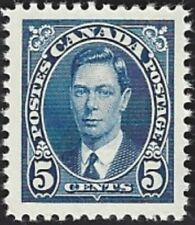 Canada    # 235   King George VI Issue   New Issue 1937 Pristine Gum    01