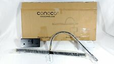 "Conoco  19"" Adjustable Black with Brass Accents LED  Piano Lamp GPLED19A"