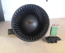 fiat grande punto/Corsa D heater motor blower fan, & heater resistor, 2006-2012