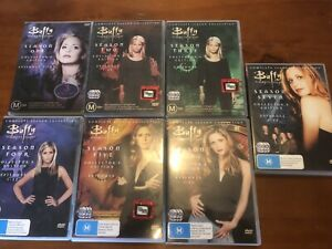 Buffy The Vampire Slayer- All 7 Seasons- 39 Discs- 146 Episodes!- DVD