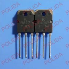 5pairs or 10PCS Transistor KEC TO-3P KTB817/KTD1047 2SB817/2SD1047 B817/D1047