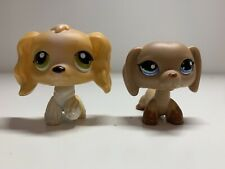littlest pet shop: Cocker Spaniel And Dachshund #79 And #1211