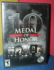 10th Anniversary Medal of Honor Collection PC CD-Rom with Box and Manual
