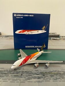 RARE Singapore Airlines A380-800 JC Wings 1:400