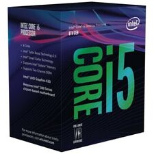 Intel® - Core i5-8600K Coffee Lake Six-Core 3.6 GHz Desktop Processor - Silver