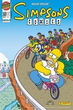 SIMPSONS COMICS # 169 + STICKERTÜTE - PANINI COMICS 2010 - TOP