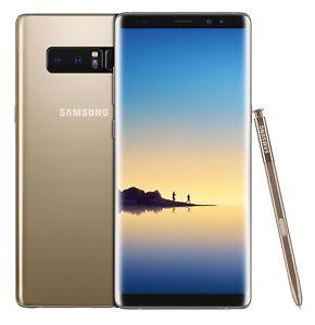 Samsung Galaxy Note8 SM-N950 - 64GB - Maple Gold (Unlocked) Smartphone
