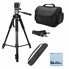 72' Inch Camera Tripod & Carrying Case for Dslr Cameras/Camcorders