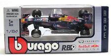 1:64 scale Bburago Model - Infiniti Red Bull RB9 F1 Car #1 Vettel & Webber