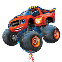 "Blaze and the Monster Machines 34"" SuperShape Foil Balloon by AMSCAN"