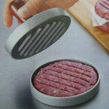 Kitchen Hamburger Press Meat Patty Mold Maker Pounder Metal 12cm/4.8inch New