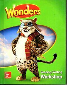 Wonders Reading/Writing Workshop Grade 4 Textbook - Homeschool / Online