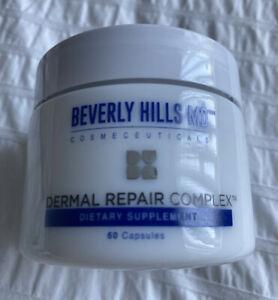 Beverly Hills MD Dermal Repair Complex 60 Capsules Dietary Supplement Sealed Jar