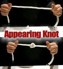 APPEARING KNOT ON ROPE TRICK MAGIC SUCKER EFFECT TIED STRING INSTANT APPEAR PROP