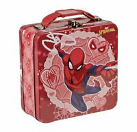 NEW w/tags 2021 Marvel Spiderman Metal Mini Valentine's Lunch Box