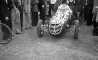OLD RACING PHOTO Raoul Martin In A Martin Simca 8 Speciale In The Paddock