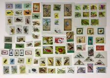 BEES, Beetles, Insects. 87 Postage Stamps. Various Countries. UAE, Africa, Euro