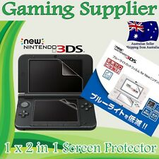 LCD Screen Guard Protector for New Nintendo 3DS system (2014 Model)