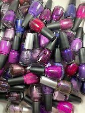 China Glaze Nail Polish Purple Lavender Lilac Light Dark Glitter & More U Choose