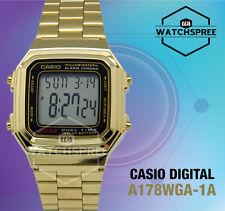 Casio Digital Watch A178WGA-1A