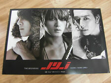 JYJ - THE BEGINNING [ORIGINAL POSTER] *NEW* K-POP