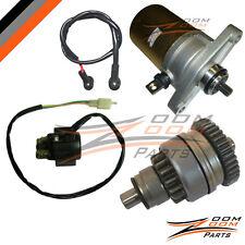 GY6 139QMB 139 QMB 49cc 50cc Starter Motor Drive Clutch Relay GoKart Moped