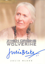 "X-Men Origins Wolverine - Julia Blake as ""Heather Hudson"" Autograph Card"